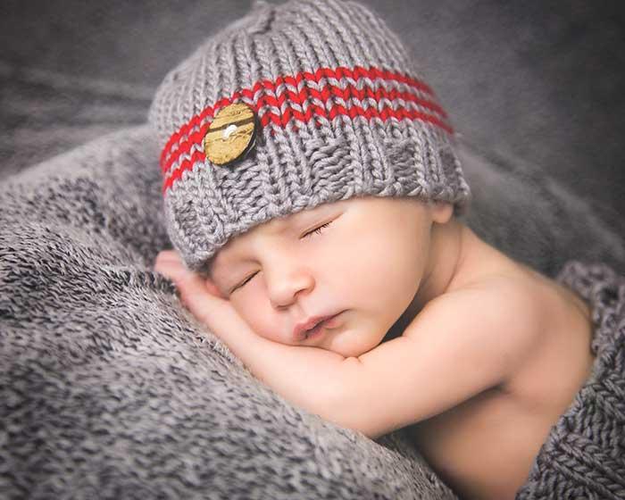 foto dormidito bebe