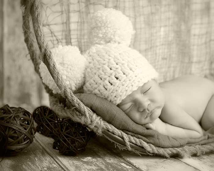 foto sepia newborn valladolid